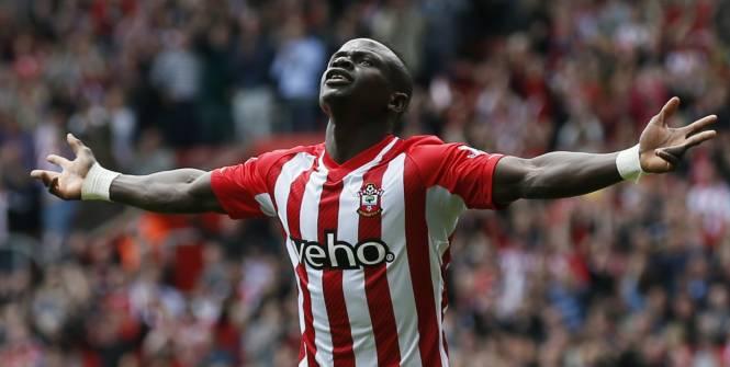Sadio Mané a marqué un hat-trick record contre Aston Villa. (Reuters)